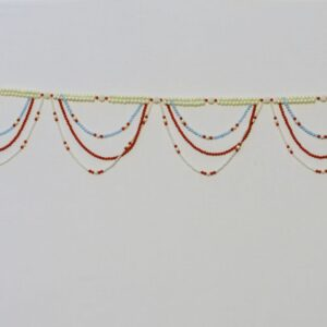 Bandhanwar colorful bead hangings multicolor beads handmade bandarwal