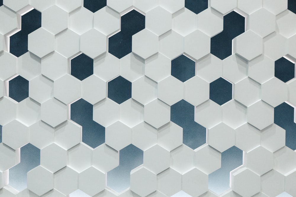 DIY Home Decor Idea Honeycomb Wall