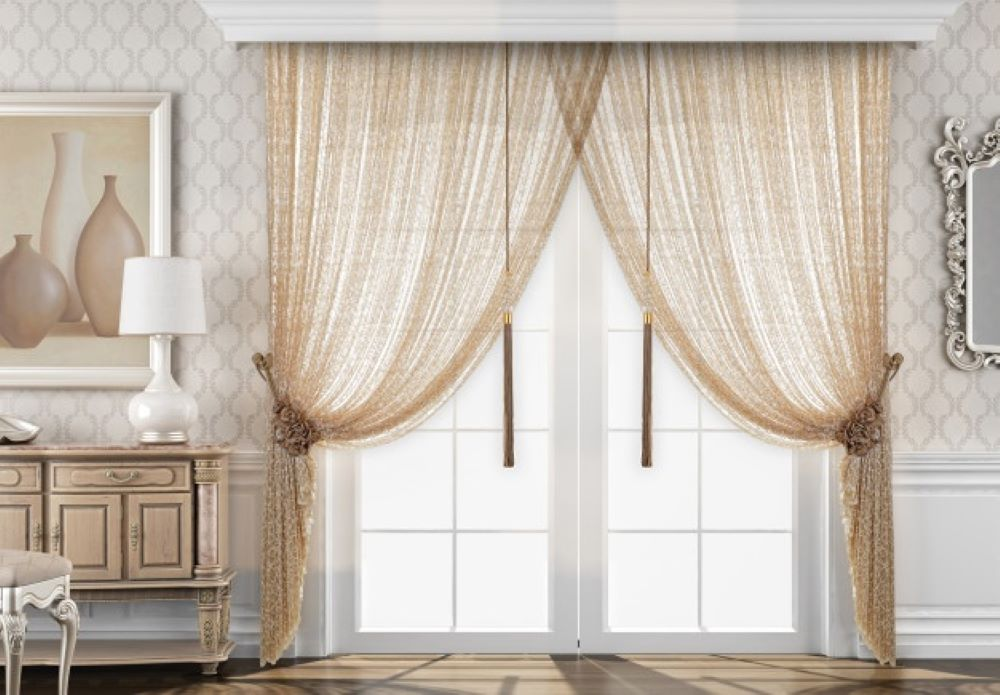 window with curtain decoration 132749 13 1