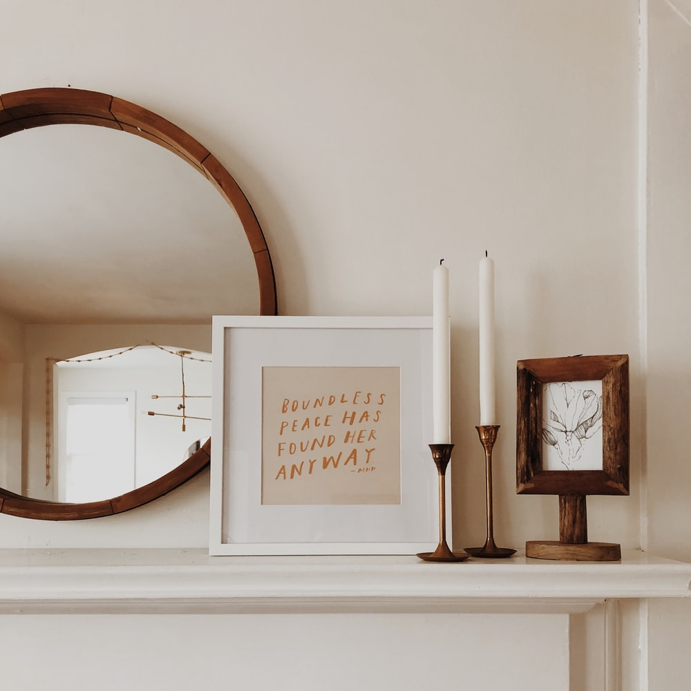 DIY Home Decor Idea mIRROR