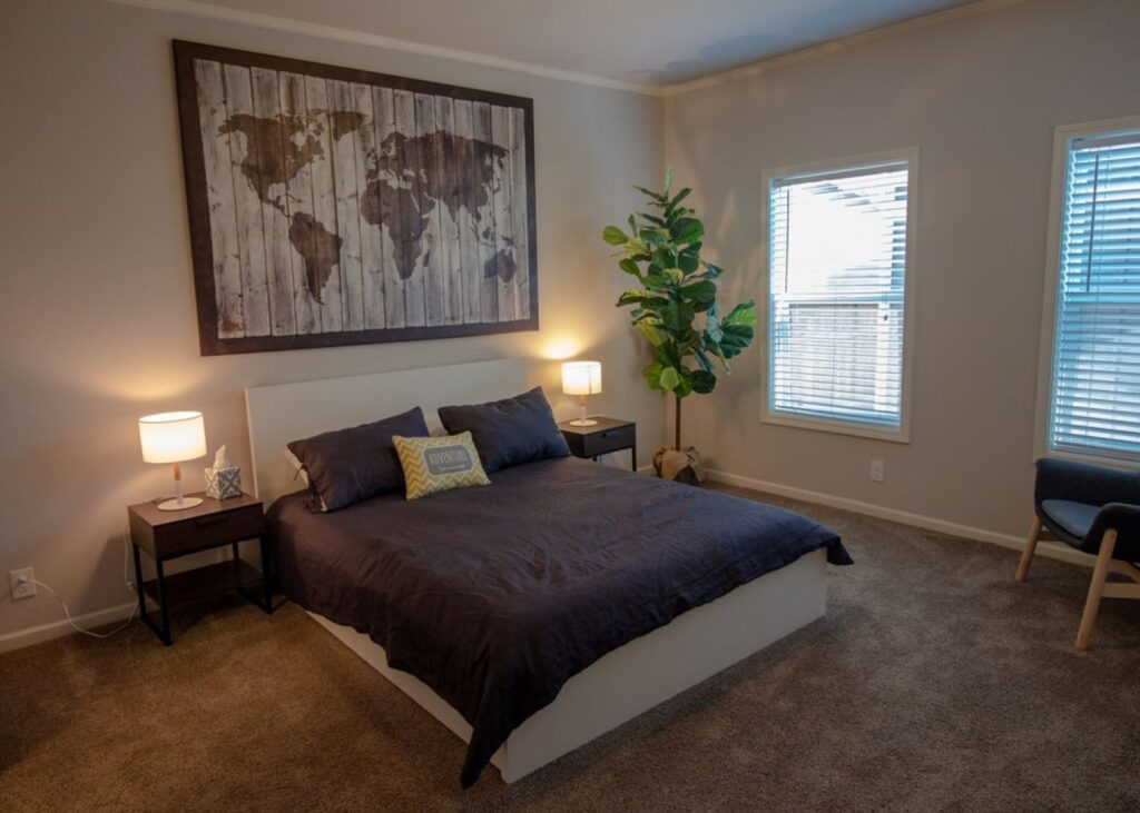 ideas for the decoration of a teens room map