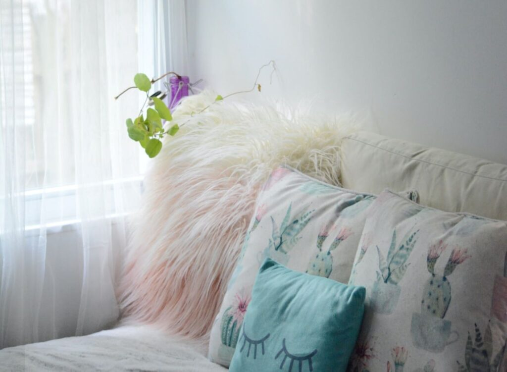 Floral patterned Pillows
