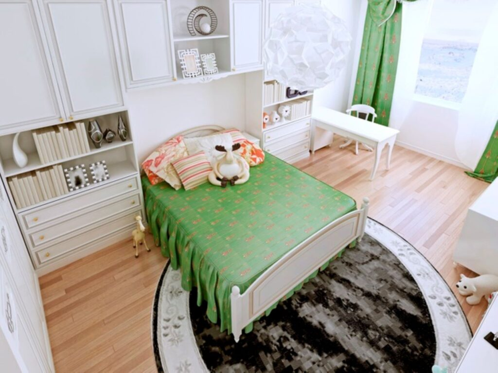 ideas for the decoration of a teens room shelf