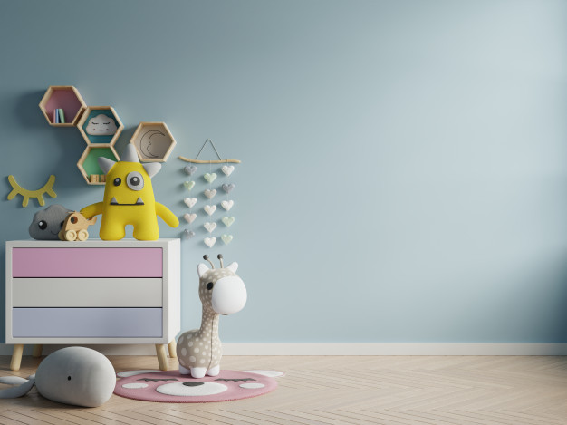 6 Simple And Colourful Tips To Decorate Kids Room Walls