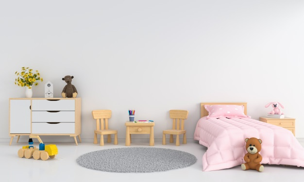 painting a kid's room